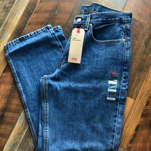 Levi's 550 Relaxed W34 L32 Tapered Leg Med Blue